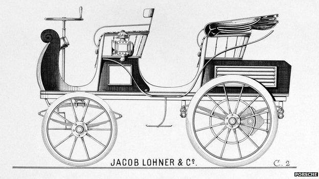 First Porsche design