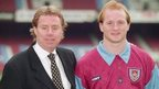 Harry Redknapp and John Hartson