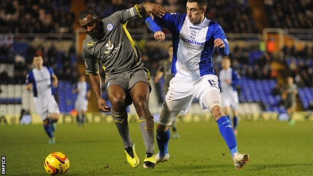 Wes Morgan and Lee Novak