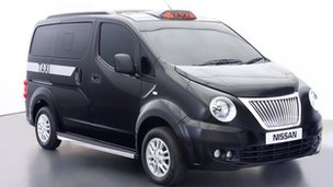 Nissan's new London taxi