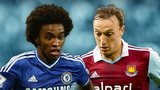 Willian and Mark Noble