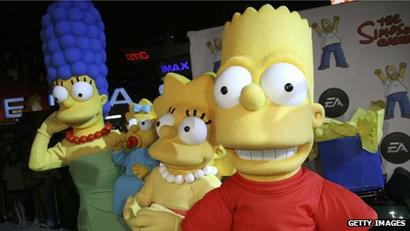 "EA ""The Simpsons"" game launch"