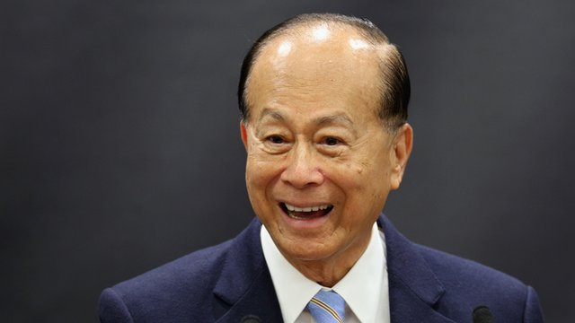 Hong Kong billionaire businessman Li Ka-Shing
