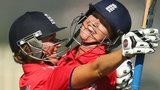 Charlotte Edwards and Sarah Taylor savour England's victory