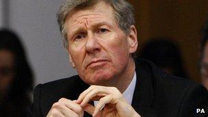 Justice Secretary Kenny MacAskill