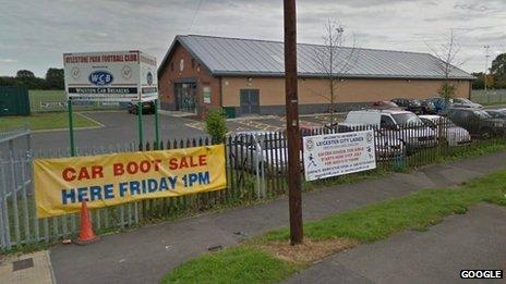 Aylestone Park FC site in Dorset Avenue