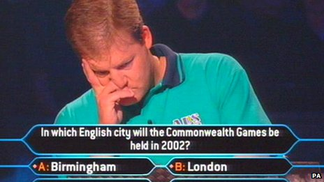 A still from Australia's Who Wants To Be a Millionaire