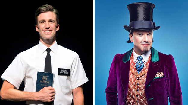 The Book of Mormon and Charlie and the Chocolate Factory