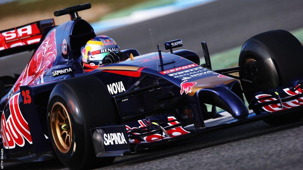 New F1 Car 2014 7