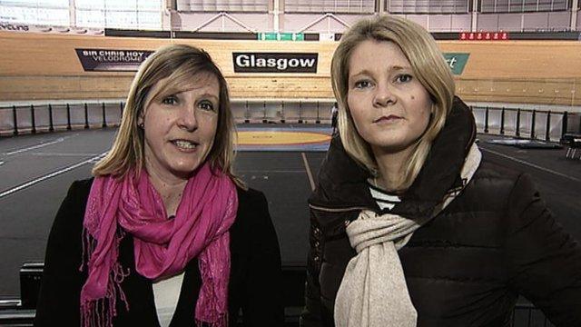 Lisa Summers and Jane Lewis