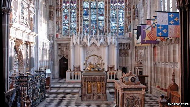 The Beauchamp Chapel
