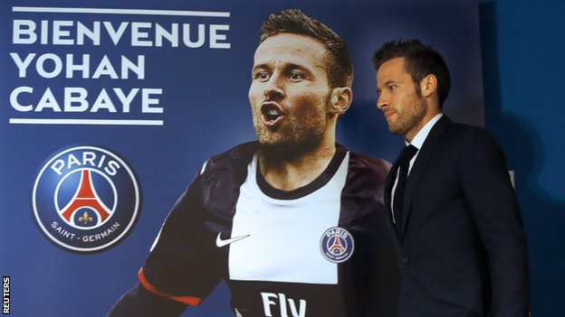 Yohan Cabaye Paris St-Germain