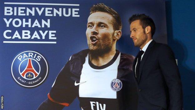 Yohan Cabaye Paris St-Germain