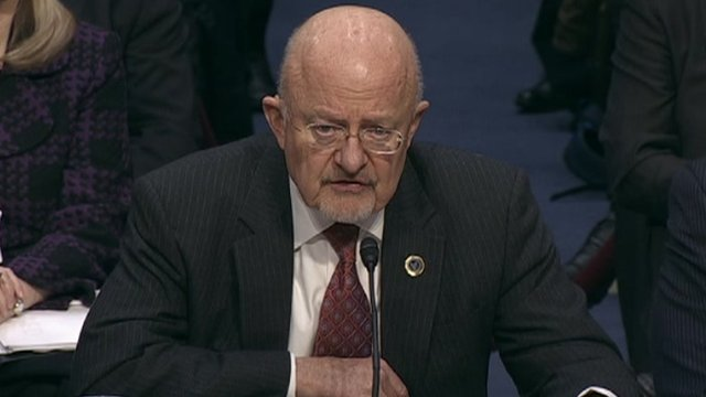 James Clapper at Senate Intelligence hearing