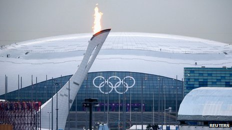 Bolshoy Ice Dome on the Olympic Park in Sochi