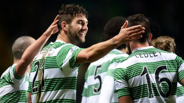 Charlie Mulgrew scored Celtic's third goal