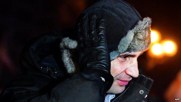 Vitali Klitschko, 30 Jan