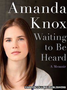 Book cover of Amanda Knox's Waiting To Be Heard