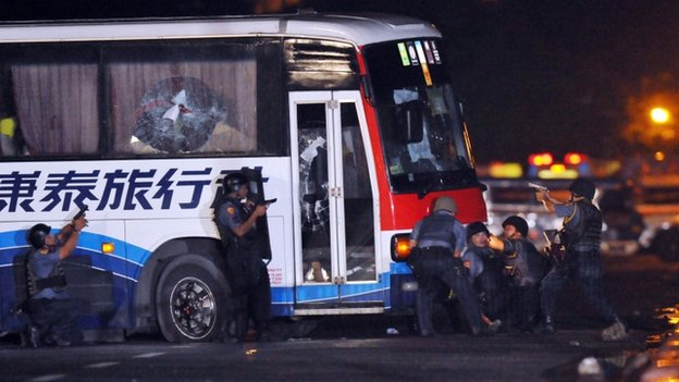 File pic of hijacked bus