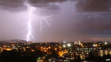 Storm in Brazil