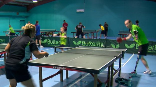 Table tennis at Drumchapel