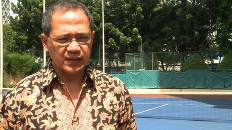 Maman Wirjawan, chairman of the Indonesian Tennis Association
