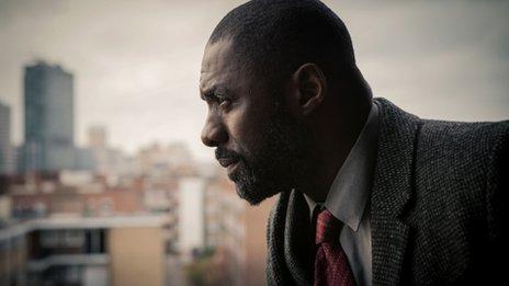 Idris Elba in Luther, season 3