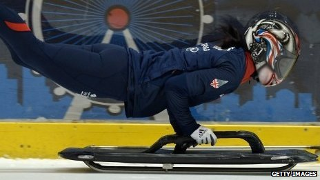 Skeleton athlete Shelley Rudman