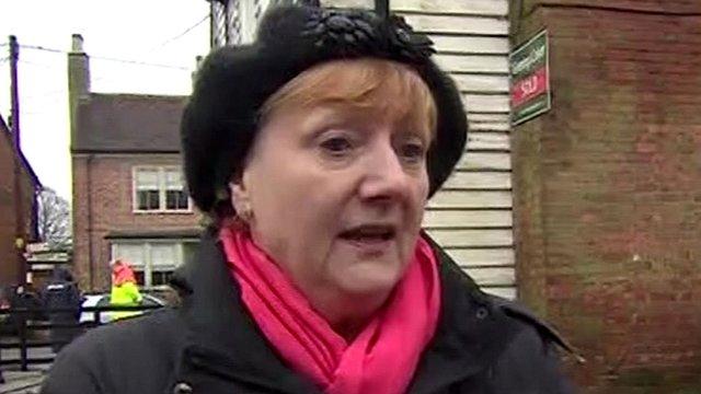 Yalding parish council chairwoman Geraldine Brown