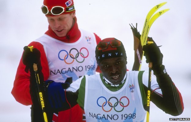 Bjorn Daehlie and Philip Boit, Nagano  1998