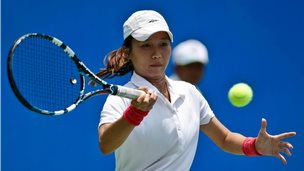 Indonesian tennis player Lavinia Tananta