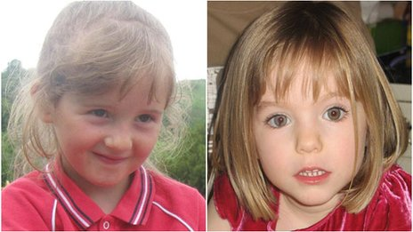 April Jones and Madeleine McCann