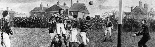 A match from 1885