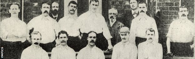 Preston North End, League and FA Cup winners 1888-89