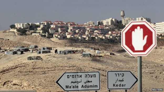 West Bank settlement of Maale Adumim (13 November 2013)