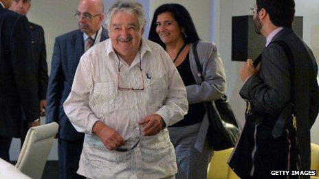 President Jose Murica of Uruguay