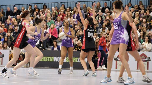 Loughborough Lightning in action