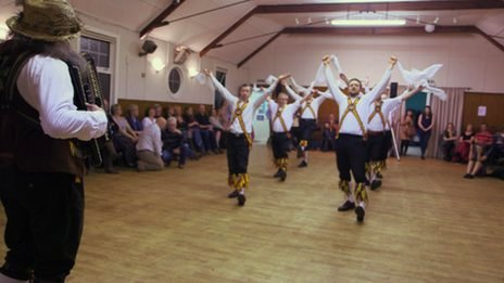 Morris Dancers in Scotland