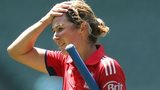 England Women captain Charlotte Edwards top-scored with 28 at the MCG