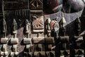 Wooden carvings in Djenne in Mali