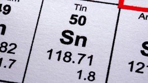 Tin in periodic table