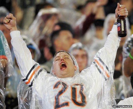 Chicago Bears fan, 2007