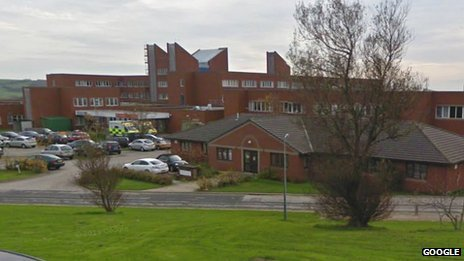 Barrow's Furness General Hospital