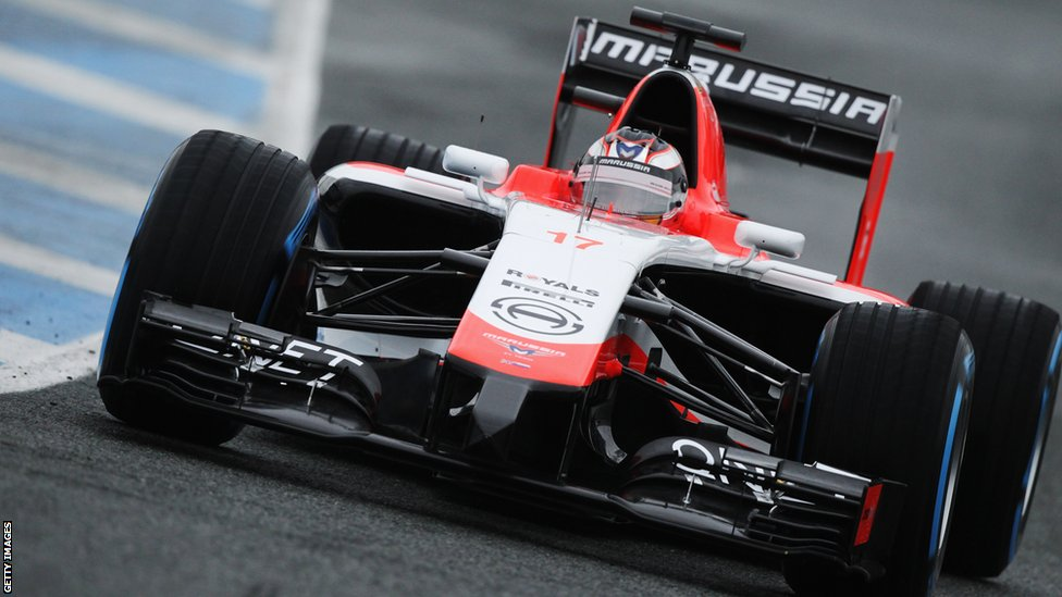 Equipe Marussia de Formula 1 de  2014 - news.bbcimg.co.uk