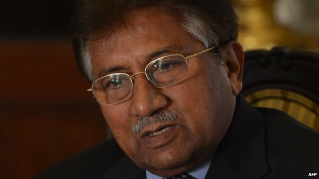 Pervez Musharraf on 29 December 2013