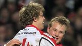 Ulster duo Andrew Trimble and Luke Marshall are surprise inclusions in the Ireland team for the game with Scotland