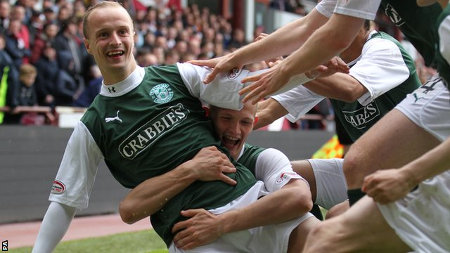 Striker Leigh Griffiths