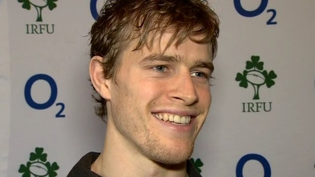 Andrew Trimble thrilled by Ireland selection