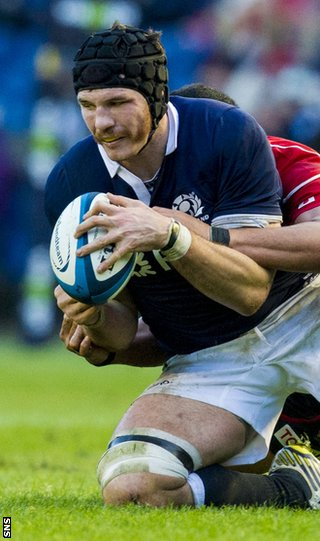 Tim Swinson gets the nod in the second row