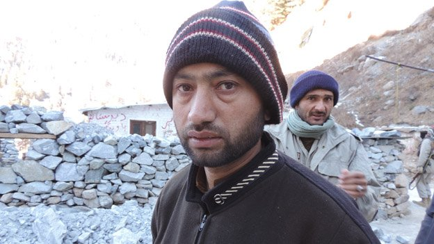 Wali Ahmed - who is trying to bury his mother